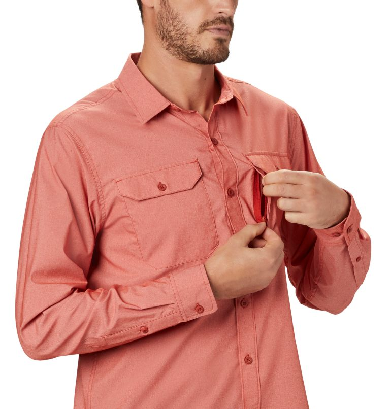 Canyon Pro™ Long Sleeve Shirt | 831 | S Men's Canyon Pro™ Long Sleeve Shirt, Desert Red, a2