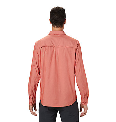 Men's Canyon Pro™ Long Sleeve Shirt Canyon Pro™ Long Sleeve Shirt | 451 | XL, Desert Red, back