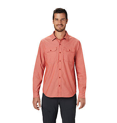 Men's Canyon Pro™ Long Sleeve Shirt Canyon Pro™ Long Sleeve Shirt | 451 | XL, Desert Red, front