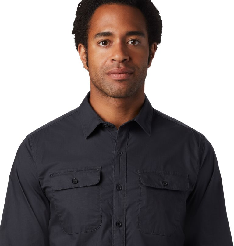 J Tree™ Long Sleeve Shirt | 004 | L Men's J Tree™ Long Sleeve Shirt, Dark Storm, a1
