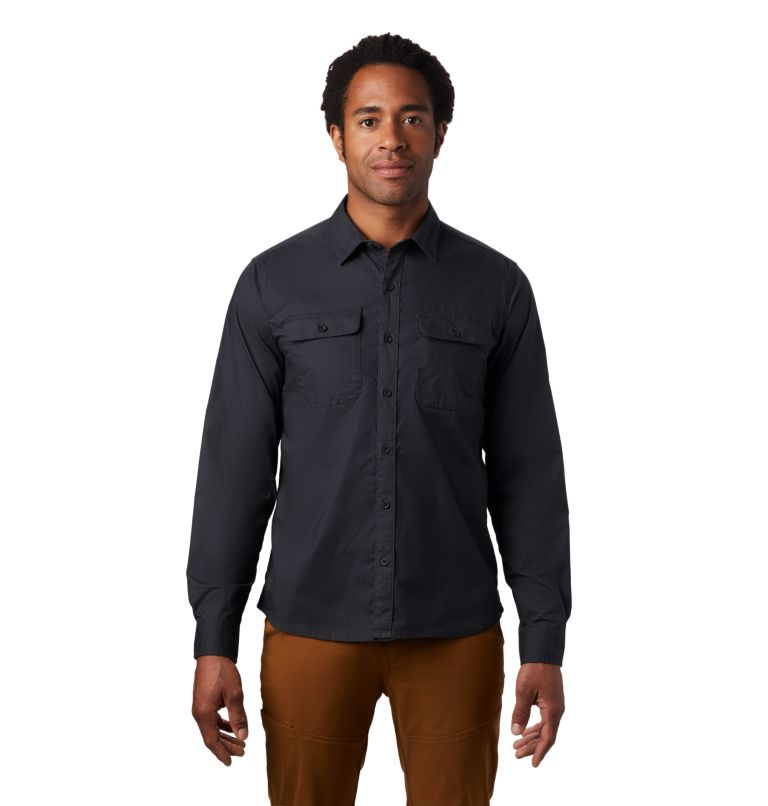 J Tree™ Long Sleeve Shirt | 004 | L Men's J Tree™ Long Sleeve Shirt, Dark Storm, front