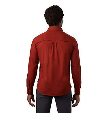 Men's J Tree™ Long Sleeve Shirt J Tree™ Long Sleeve Shirt | 801 | L, Rusted, back