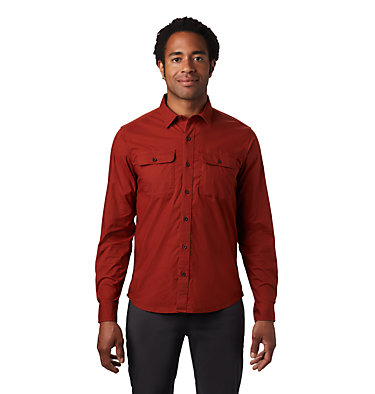 Men's J Tree™ Long Sleeve Shirt J Tree™ Long Sleeve Shirt | 004 | M, Rusted, front