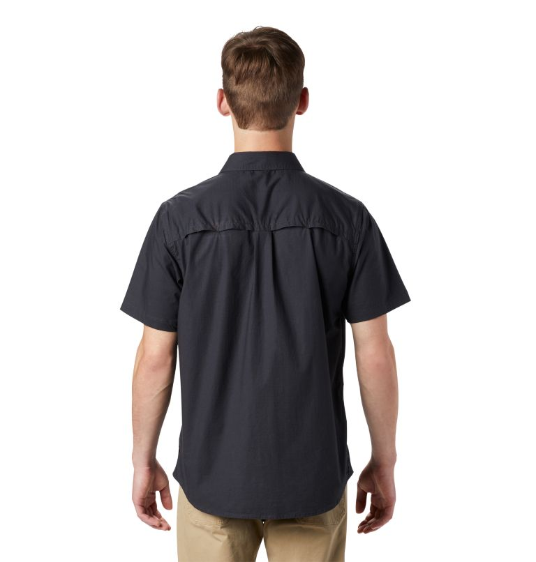 J Tree™ Short Sleeve Shirt | 004 | S Men's J Tree™ Short Sleeve Shirt, Dark Storm, back