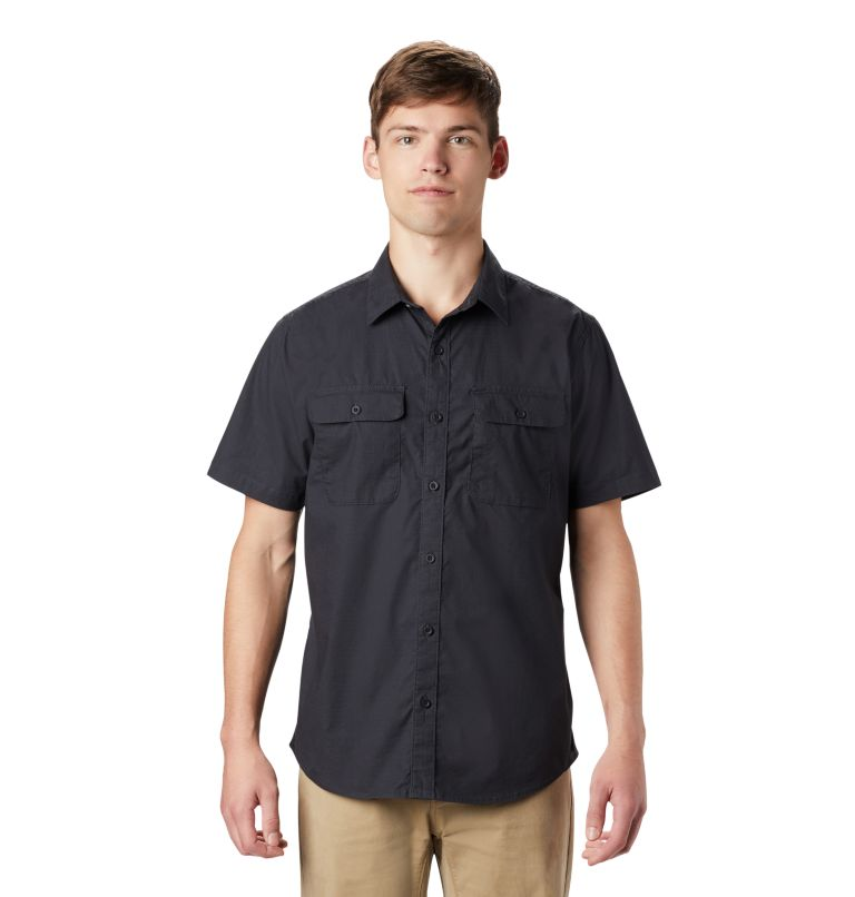 J Tree™ Short Sleeve Shirt | 004 | S Men's J Tree™ Short Sleeve Shirt, Dark Storm, front