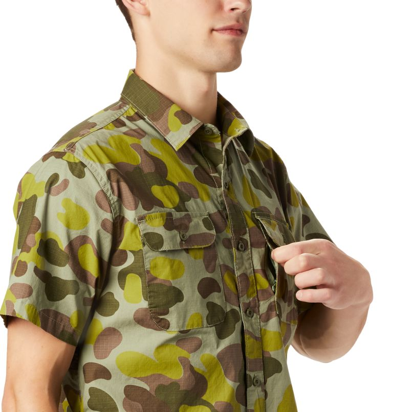 J Tree™ Short Sleeve Shirt | 355 | XXL Men's J Tree™ Short Sleeve Shirt, Field Camo, a1