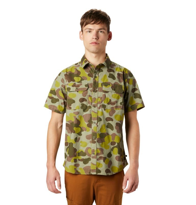 J Tree™ Short Sleeve Shirt | 355 | XL Men's J Tree™ Short Sleeve Shirt, Field Camo, front