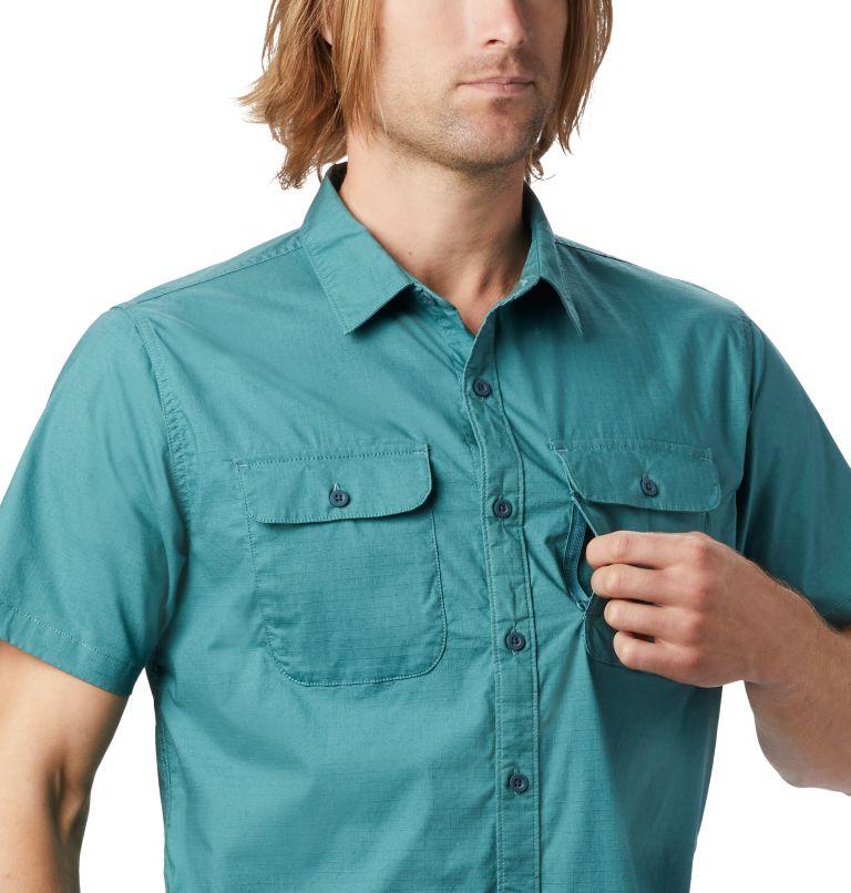 J Tree™ Short Sleeve Shirt | 447 | XL Men's J Tree™ Short Sleeve Shirt, Washed Turq, a1