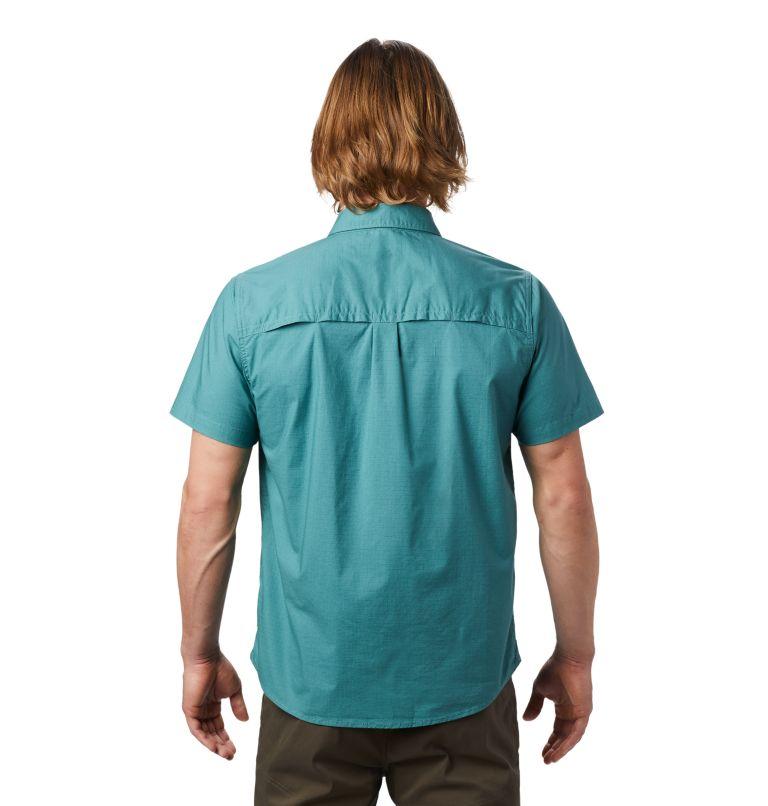 J Tree™ Short Sleeve Shirt | 447 | XL Men's J Tree™ Short Sleeve Shirt, Washed Turq, back