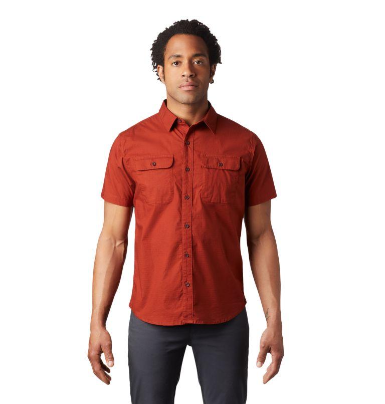 J Tree™ Short Sleeve Shirt | 801 | XXL Men's J Tree™ Short Sleeve Shirt, Rusted, front