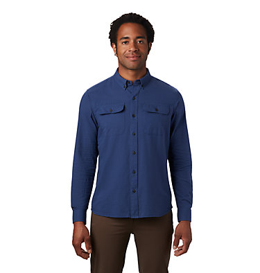 Men's Crystal Valley™ Long Sleeve Shirt Crystal Valley™ Long Sleeve Shirt | 164 | L, Better Blue, front