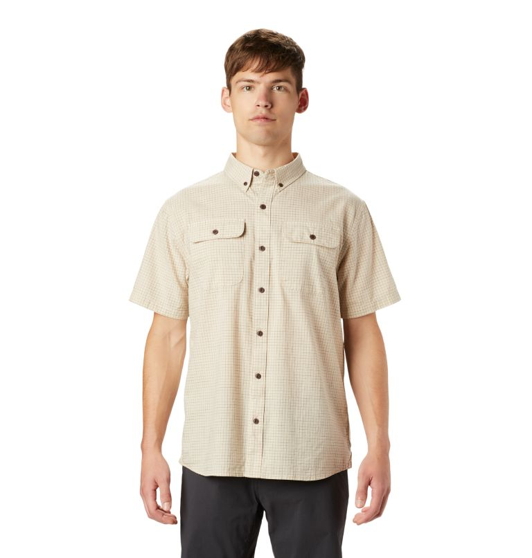 Crystal Valley™ Short Sleeve Shirt | 164 | XXL Men's Crystal Valley™ Short Sleeve Shirt, Lightlands, front