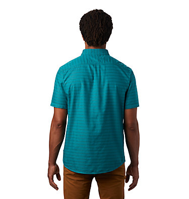 Men's Crystal Valley™ Short Sleeve Shirt Crystal Valley™ Short Sleeve Shirt | 164 | L, Vivid Teal, back