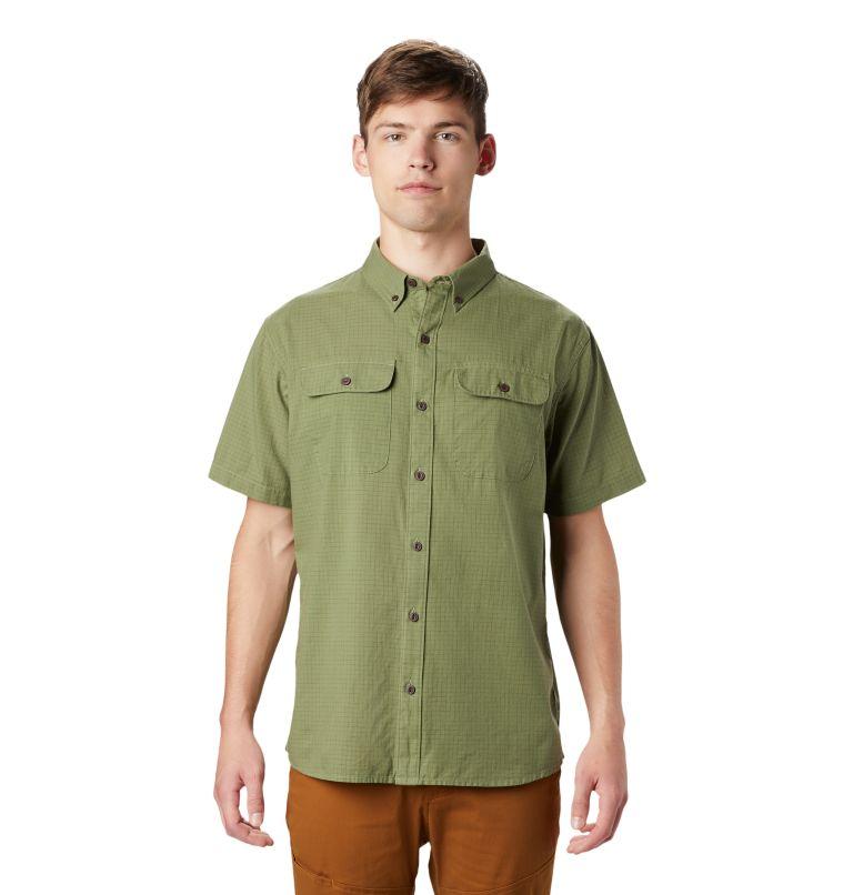 Crystal Valley™ Short Sleeve Shirt | 354 | L Men's Crystal Valley™ Short Sleeve Shirt, Field, front