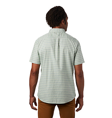 Men's Crystal Valley™ Short Sleeve Shirt Crystal Valley™ Short Sleeve Shirt | 164 | L, Glacial Mint, back