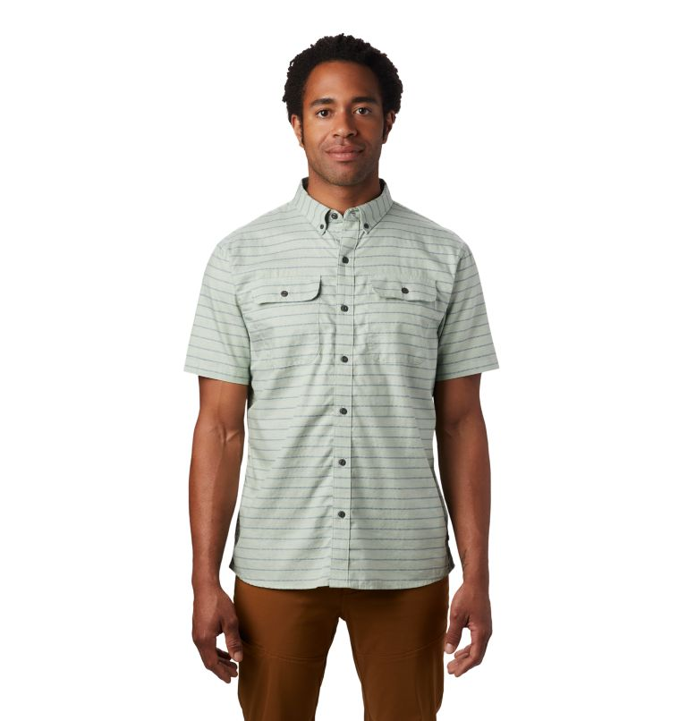 Crystal Valley™ Short Sleeve Shirt | 372 | XXL Men's Crystal Valley™ Short Sleeve Shirt, Glacial Mint, front