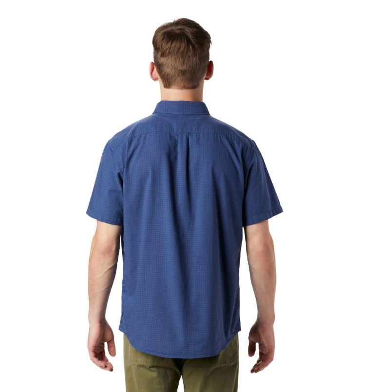 Crystal Valley™ Short Sleeve Shirt   452   L Men's Crystal Valley™ Short Sleeve Shirt, Better Blue, back