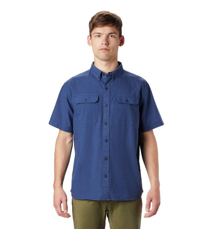 Crystal Valley™ Short Sleeve Shirt   452   L Men's Crystal Valley™ Short Sleeve Shirt, Better Blue, front