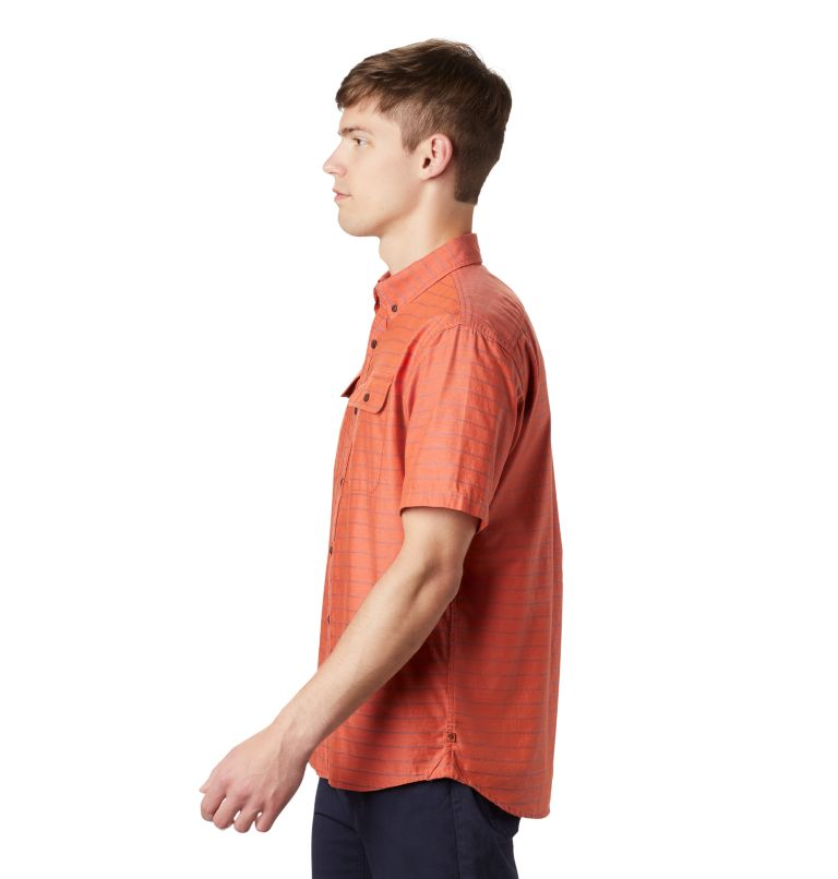 Crystal Valley™ Short Sleeve Shirt | 840 | L Men's Crystal Valley™ Short Sleeve Shirt, Dark Clay, a1