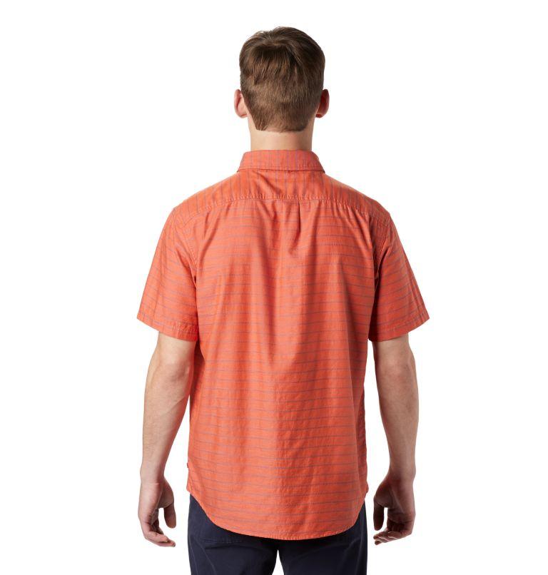 Crystal Valley™ Short Sleeve Shirt | 840 | L Men's Crystal Valley™ Short Sleeve Shirt, Dark Clay, back