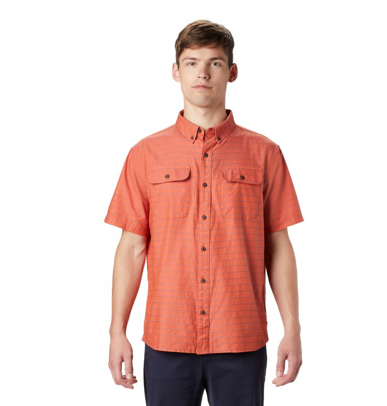 Crystal Valley™ Short Sleeve Shirt | 840 | L Men's Crystal Valley™ Short Sleeve Shirt, Dark Clay, front