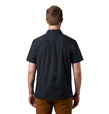 Men's Hand/Hold™ Printed Short Sleeve Shirt Hand/Hold™ Printed Short Sleeve Shirt | 005 | L, Dark Storm Cam Print, back