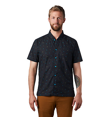 Men's Hand/Hold™ Printed Short Sleeve Shirt Hand/Hold™ Printed Short Sleeve Shirt | 005 | L, Dark Storm Cam Print, front