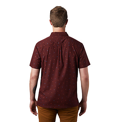 Men's Hand/Hold™ Printed Short Sleeve Shirt Hand/Hold™ Printed Short Sleeve Shirt | 005 | L, Dark Umber Cam Print, back