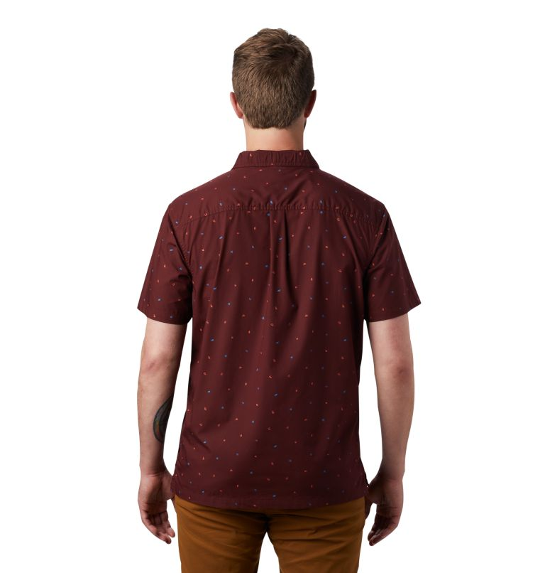 Men's Hand/Hold™ Printed Short Sleeve Shirt Men's Hand/Hold™ Printed Short Sleeve Shirt, back