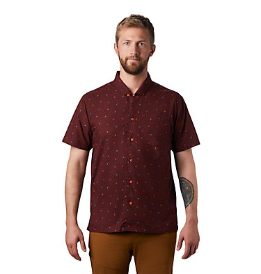 Men's Hand/Hold™ Printed Short Sleeve Shirt Hand/Hold™ Printed Short Sleeve Shirt | 005 | L, Dark Umber Cam Print, front