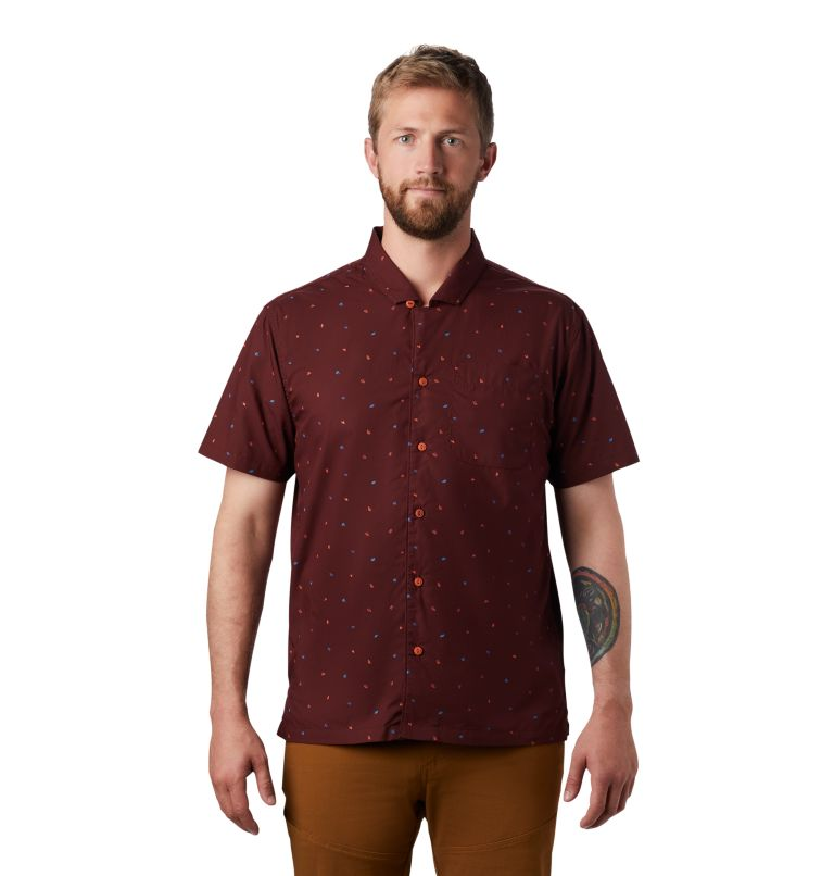 Men's Hand/Hold™ Printed Short Sleeve Shirt Men's Hand/Hold™ Printed Short Sleeve Shirt, front