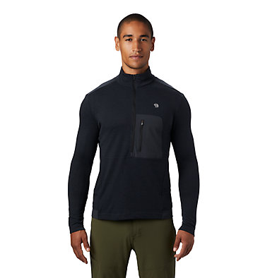 Men's Cragger/2 Long Sleeve 1/2 Zip Cragger/2™ Long Sleeve 1/2 Zip | 452 | L, Dark Storm, front