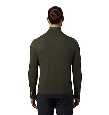 Men's Cragger/2 Long Sleeve 1/2 Zip Cragger/2™ Long Sleeve 1/2 Zip | 452 | L, Dark Army, back