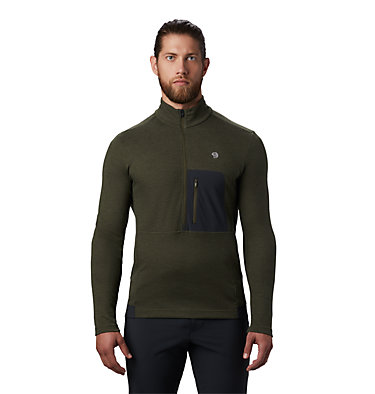 Men's Cragger/2 Long Sleeve 1/2 Zip Cragger/2™ Long Sleeve 1/2 Zip | 452 | L, Dark Army, front