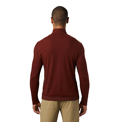 Men's Cragger/2 Long Sleeve 1/2 Zip Cragger/2™ Long Sleeve 1/2 Zip | 452 | L, Rusted, back