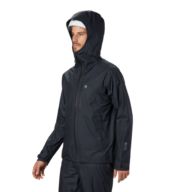 Exposure/2™ Gore-Tex® Paclite Plus Jacke | 004 | M Men's Exposure/2™ Gore-Tex Paclite® Plus Jacket, Dark Storm, a2