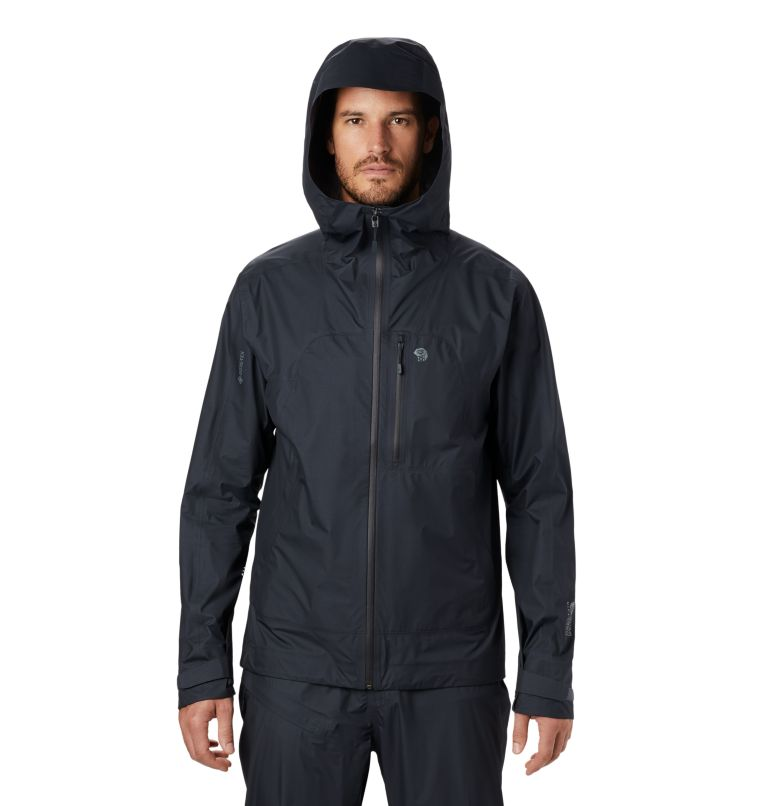 Exposure/2™ Gore-Tex® Paclite Plus Jacke | 004 | M Men's Exposure/2™ Gore-Tex Paclite® Plus Jacket, Dark Storm, front