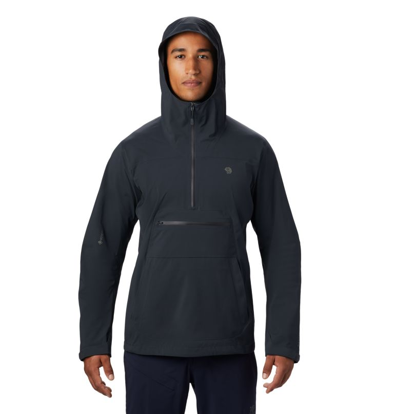 Exposure/2™ Gore-Tex Paclite Stretch Ano | 004 | M Men's Exposure/2™ Gore-Tex Paclite® Stretch Anorak, Dark Storm, front