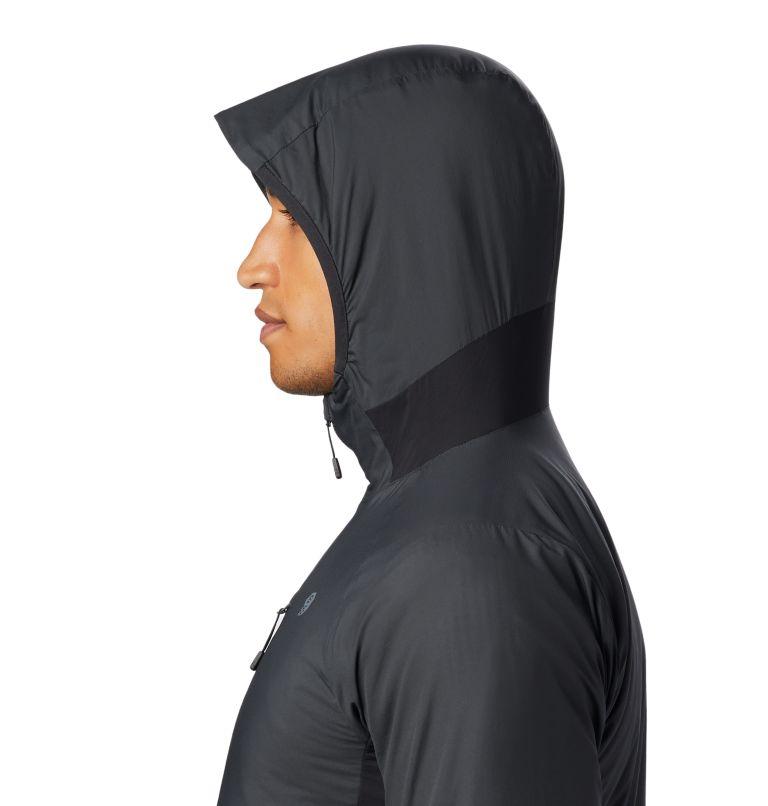 Kor Cirrus™ Hybrid Hoody | 004 | L Men's Kor Cirrus™ Hybrid Full Zip Hoody, Dark Storm, a1