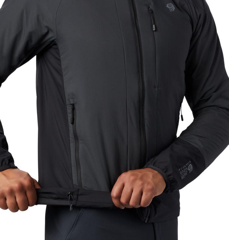 Kor Cirrus™ Hybrid Hoody | 004 | L Men's Kor Cirrus™ Hybrid Full Zip Hoody, Dark Storm, a3