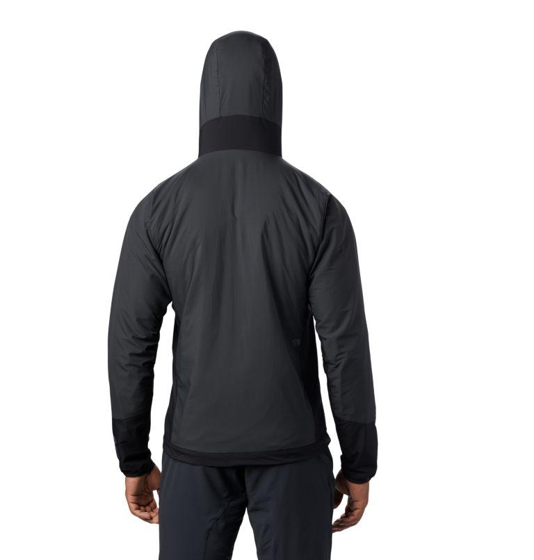 Kor Cirrus™ Hybrid Hoody | 004 | L Men's Kor Cirrus™ Hybrid Full Zip Hoody, Dark Storm, back