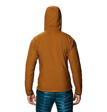 Men's Kor Cirrus™ Hybrid Hoody Kor Cirrus™ Hybrid Hoody | 233 | L, Golden Brown, back