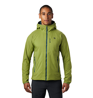 Men's Kor Cirrus™ Hybrid Hoody Kor Cirrus™ Hybrid Hoody | 233 | L, Just Green, front