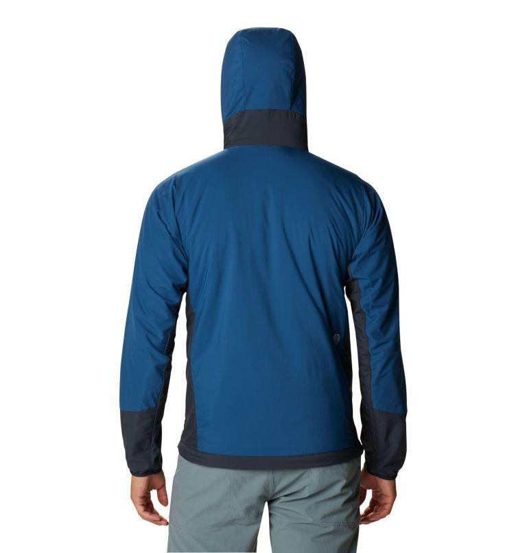 Kor Cirrus™ Hybrid Hoody | 402 | XL Men's Kor Cirrus™ Hybrid Full Zip Hoody, Blue Horizon, back