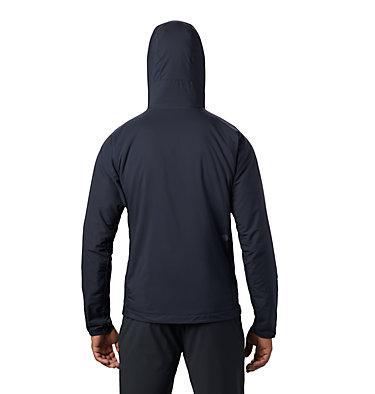 Men's Kor Cirrus™ Hybrid Hoody Kor Cirrus™ Hybrid Hoody | 233 | L, Dark Zinc, back