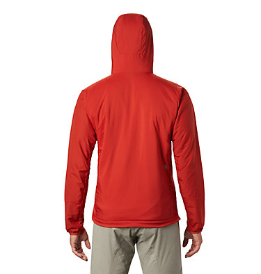 Men's Kor Cirrus™ Hybrid Hoody Kor Cirrus™ Hybrid Hoody | 233 | L, Desert Red, back