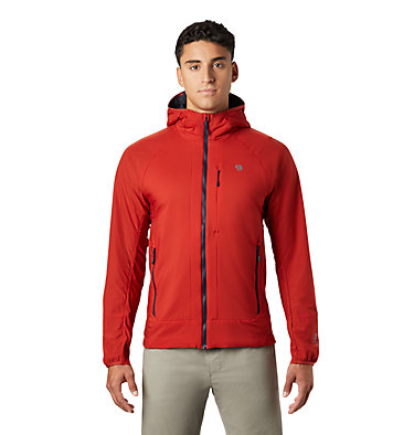 Men's Kor Cirrus™ Hybrid Hoody Kor Cirrus™ Hybrid Hoody | 233 | L, Desert Red, front