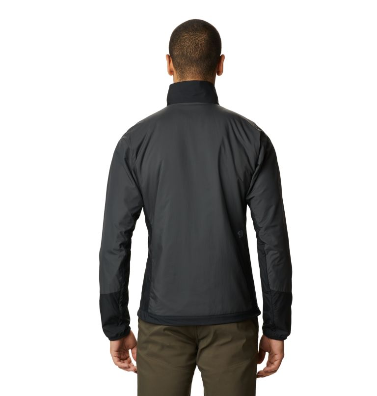Kor Cirrus™ Hybrid Jacket | 004 | XL Men's Kor Cirrus™ Hybrid Jacket, Dark Storm, back