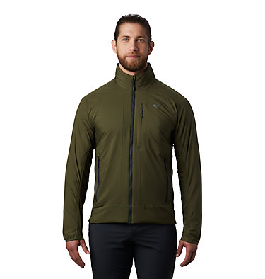 Men's Kor Cirrus™ Hybrid Jacket Kor Cirrus™ Hybrid Jacket | 305 | L, Dark Army, front