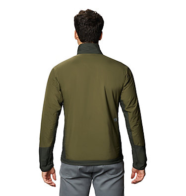 Men's Kor Cirrus™ Hybrid Jacket Kor Cirrus™ Hybrid Jacket | 305 | L, Dark Army, back